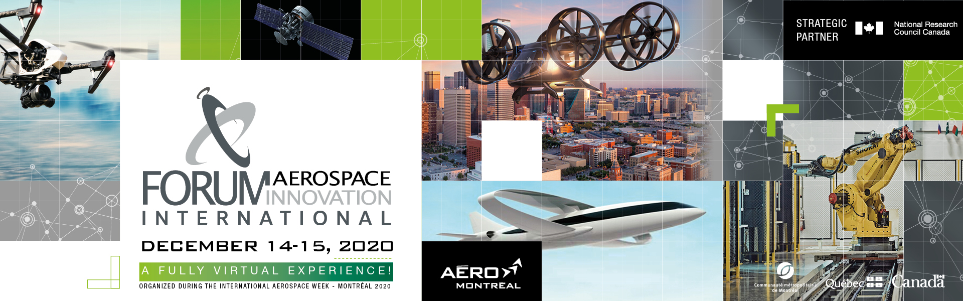 International Aerospace Innovation Forum 2020 (A fully virtual experience)