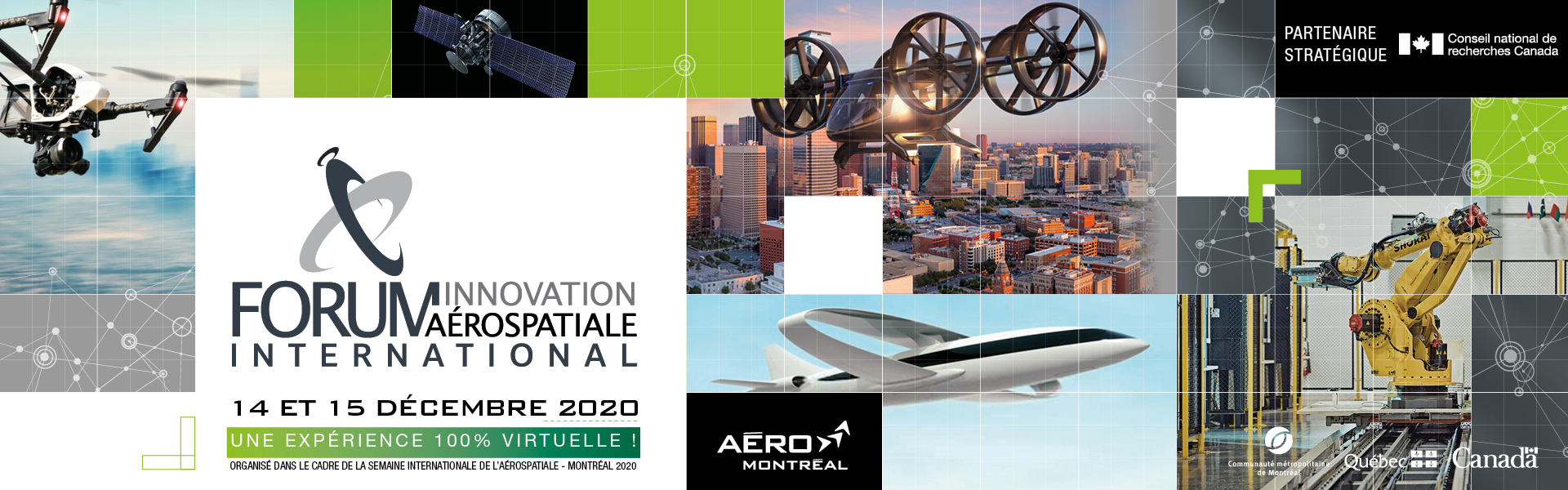 Forum innovation aérospatiale international 2020 (100% virtuel)