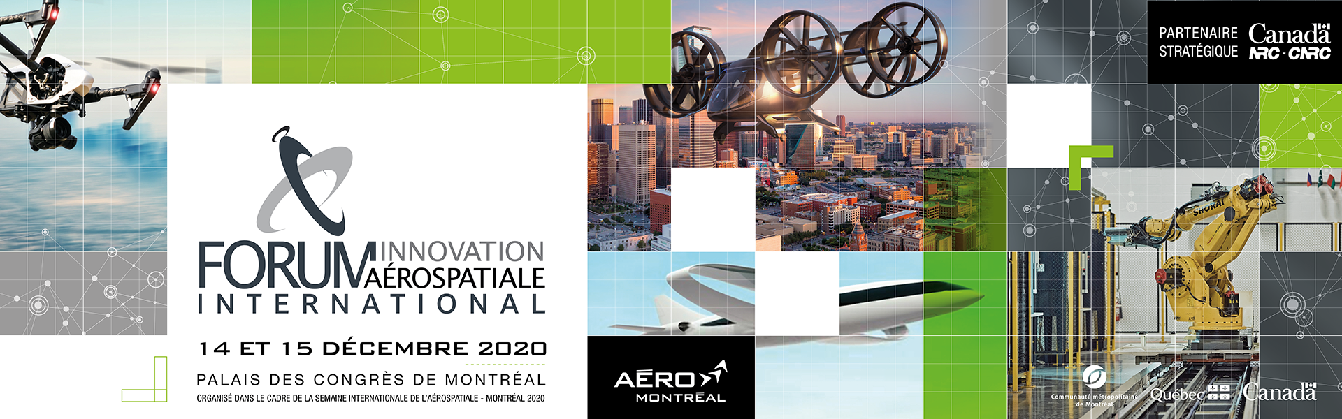 Forum innovation aérospatiale international 2020